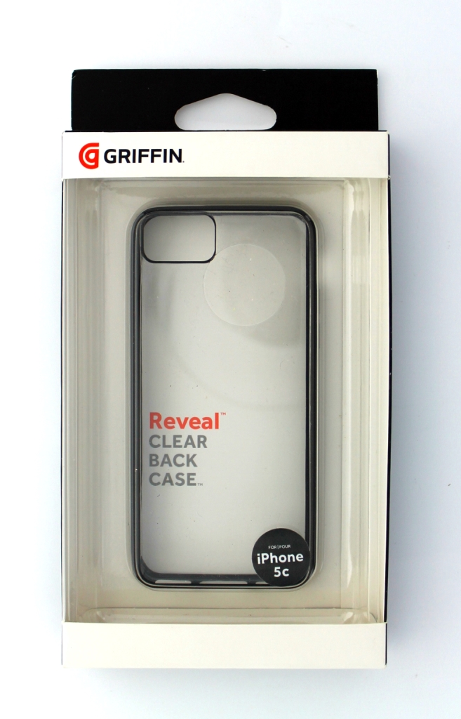 Griffin Reveal Protective Case for Apple iPhone 5C - Black/Clear
