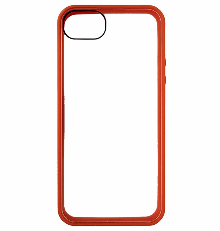 Griffin Reveal Case for Apple iPhone 5 - Orange/Clear