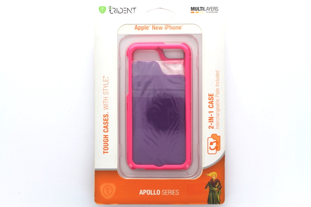 Trident Apollo Protective Case for Apple iPhone 5 - Pink/Purple
