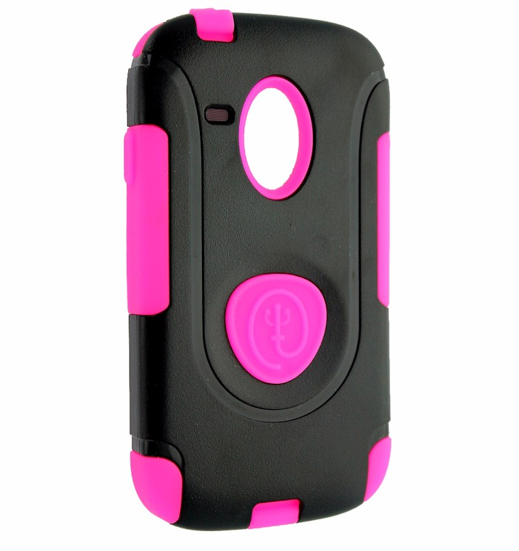 Trident Aegis Series Case for Samsung Galaxy S3 III Mini - Pink/Black