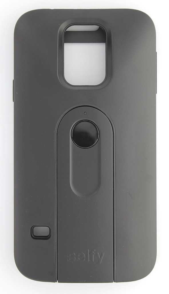 iLuv Selfy Case with Camera Shutter for Samsung Galaxy S5 - Black