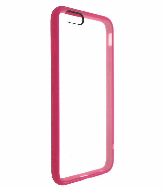 Griffin Reveal Case Cover for Apple iPhone 6 Plus 5.5 inch - Clear/Pink