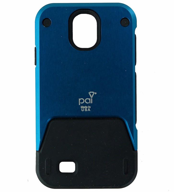Titan Series Rugged Aluminum Case for Samsung Galaxy S4 IV - Blue