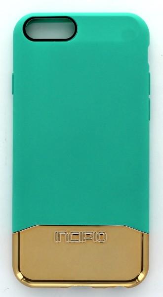 Incipio Edge Chrome Case for Apple iPhone 6 6s - Teal/Gold