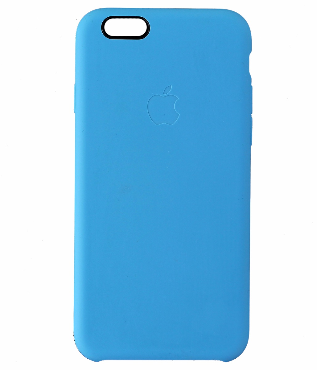 Apple iPhone 6 6s 4.7 Silicone Case Light Blue *MGQJ2ZM/A