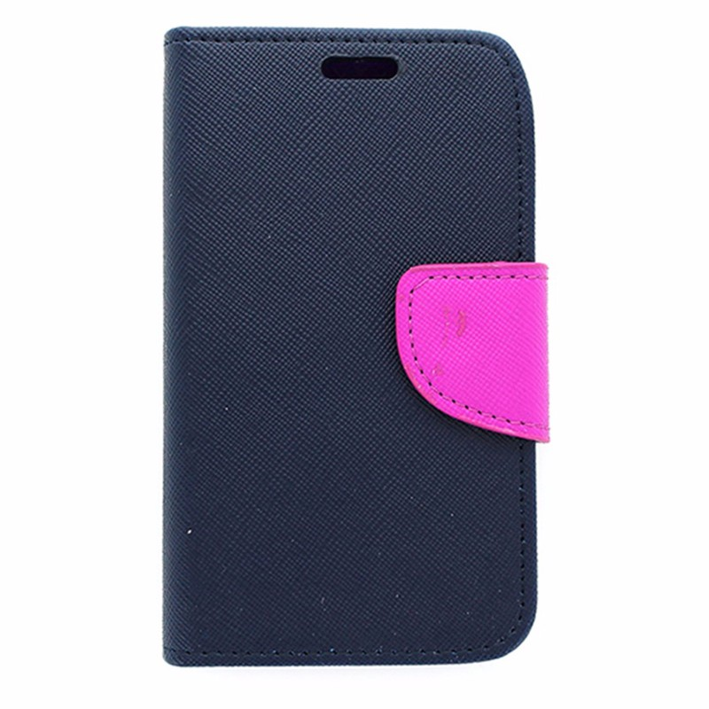Flip Mobile Wallet Case for Unimax - Blue and Purple