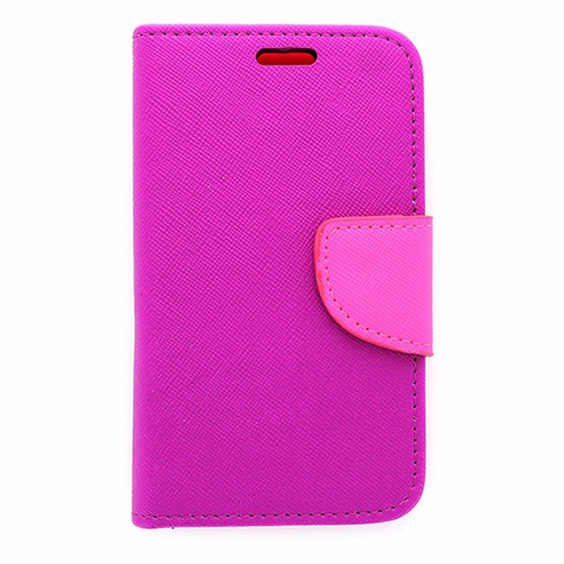 Flip Mobile Wallet Case for Unimax-Purple and Pink