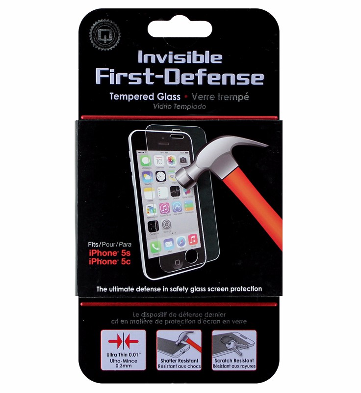 Qmadix Invisible Tech-Armor Screen Protector for Apple iPhone 5 5S 5C