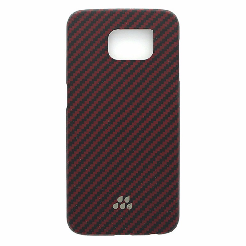 Evutec Karbon S Series Snap Case for Samsung Galaxy S6 Red and Black