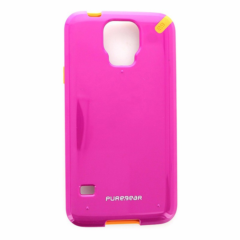 PureGear Slim Shell Case for Samsung Galaxy S5 Sunset Pink