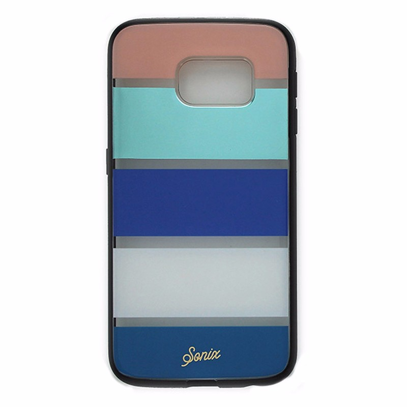 best website da5e3 683cb Sonix Clear Coat Case for Samsung Galaxy S6 Edge Bondi Stripe
