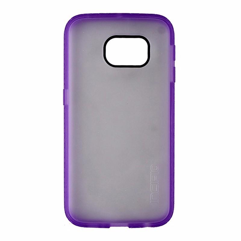 Incipio Octane Impact Case for Samsung Galaxy S6 Edge Frost w/ Purple Trim