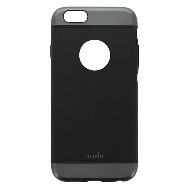 Moshi iGlaze Snap-on Case for iPhone 6S / 6 - Black and Gray