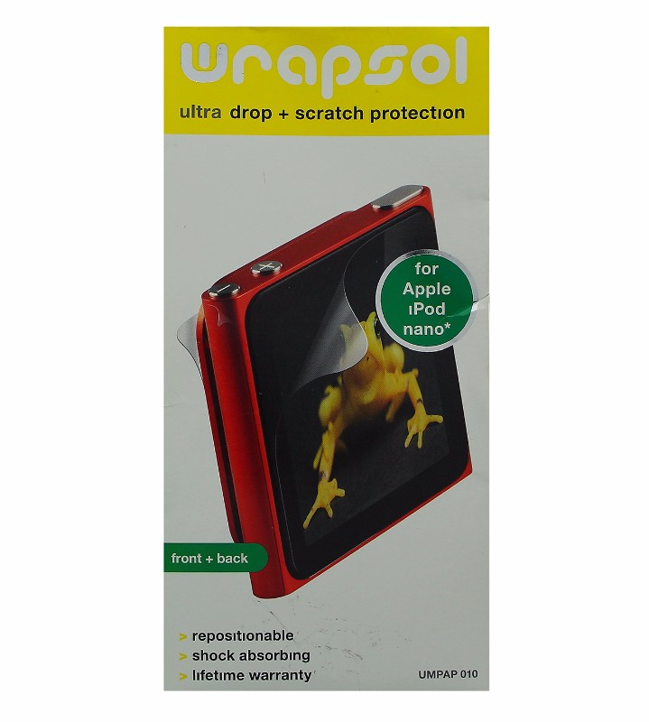 Wrapsol Ultra Drop with Scratch Protection for iPod Nano Model UMPAP 010