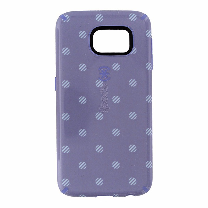 Speck CandyShell Inked Case for Samsung Galaxy S6 - Polka Purple