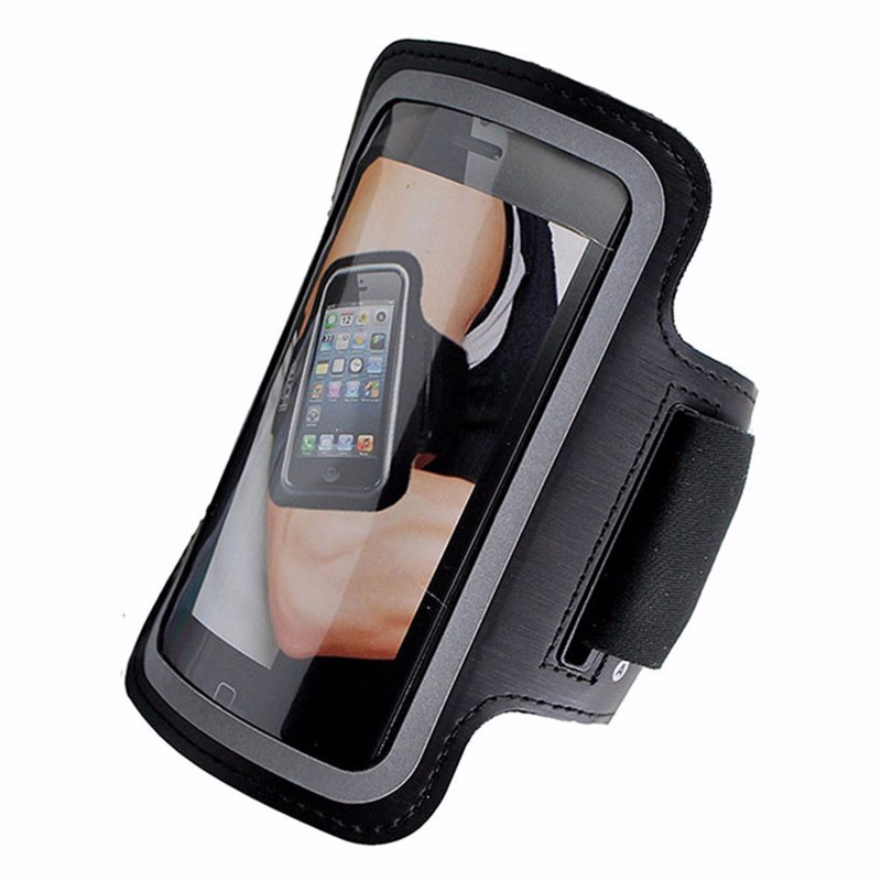 iHome IH-5P141B Sport Armband for Apple iPhone 4 4S/5 and iPod touch - Black