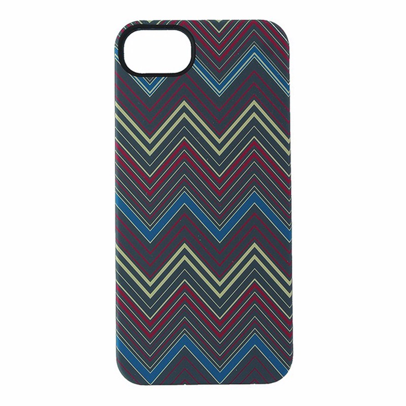 Griffin Hard Shell Case for iPhone 5/5S/SE Multi-Color Horizontal Zigzag Design