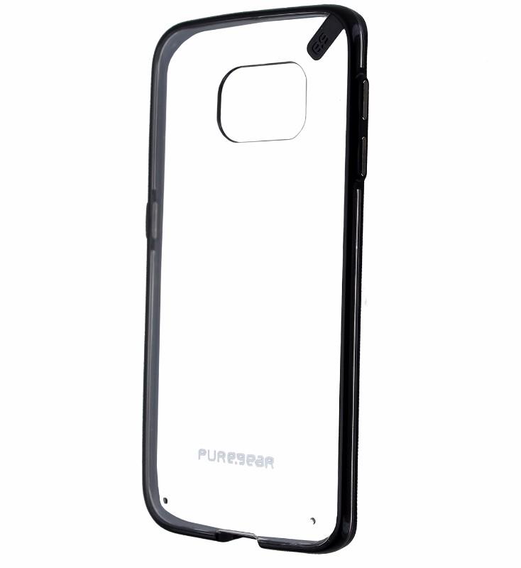 PureGear Slim Shell Case for Samsung Galaxy S6 Edge - Clear/Black