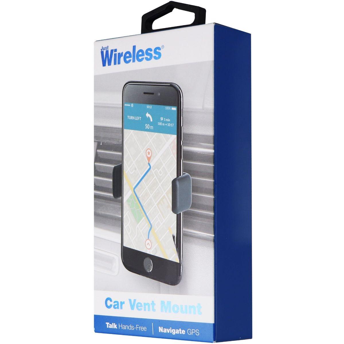 Just Wireless Universal Car Vent Mount for Smartphones - Black