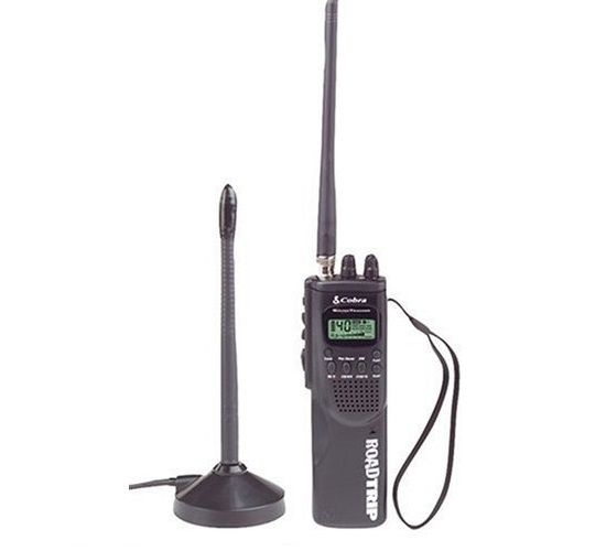 Cobra HHRT-50 RoadTrip CB Radio 40-Channel /Dual Channel Watch/NOAA Alerts