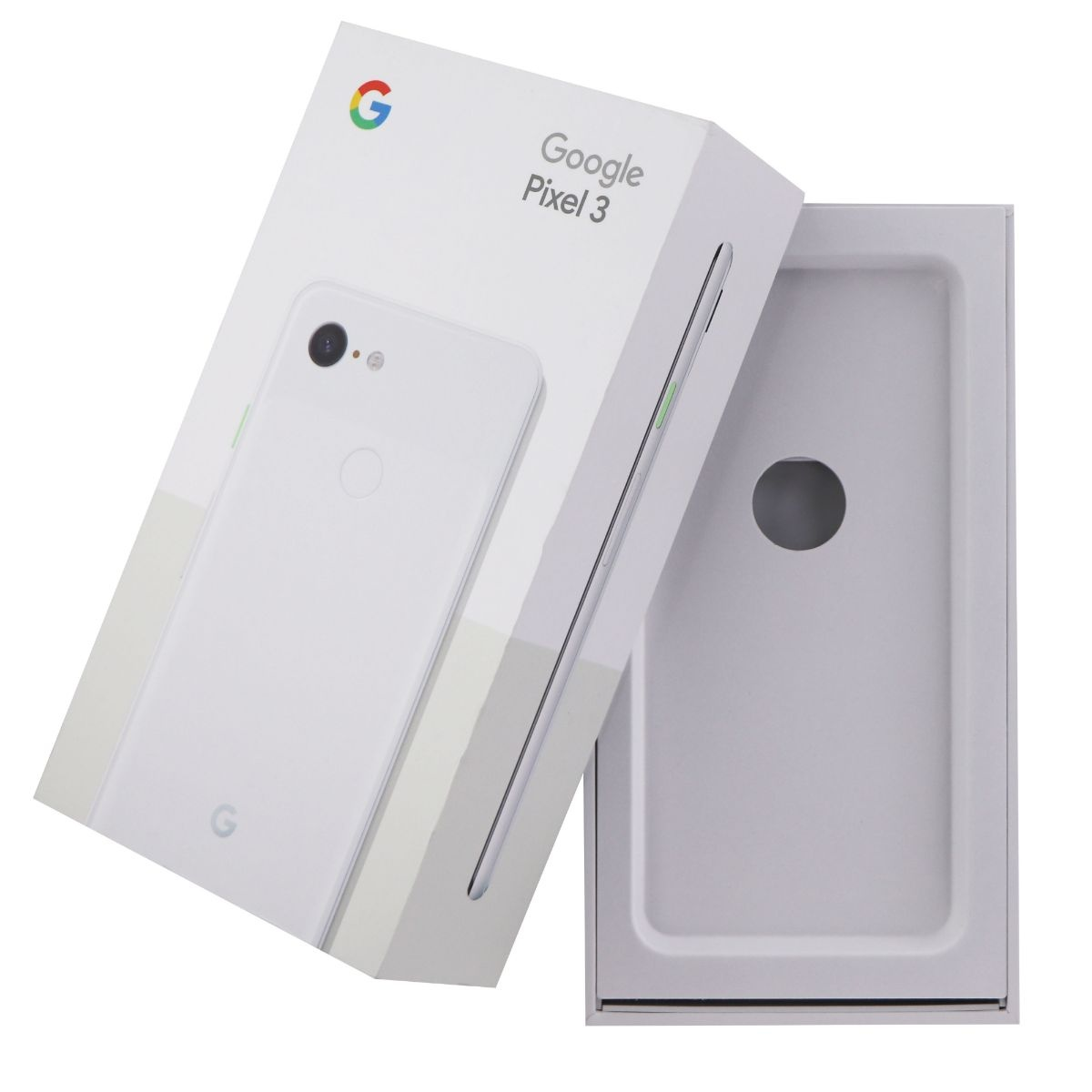 RETAIL BOX - Google Pixel 3 - 64GB / Clearly White - NO DEVICE