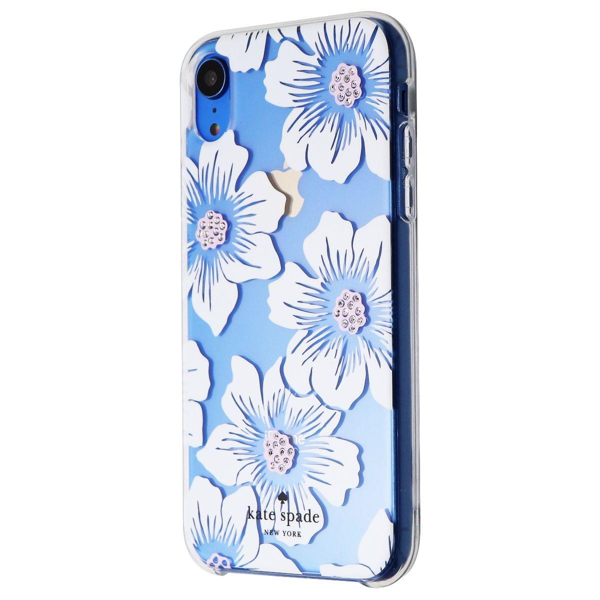 Kate Spade New York Slim Case for Apple iPhone XR - Hollyhock Cream/Blush/Gem