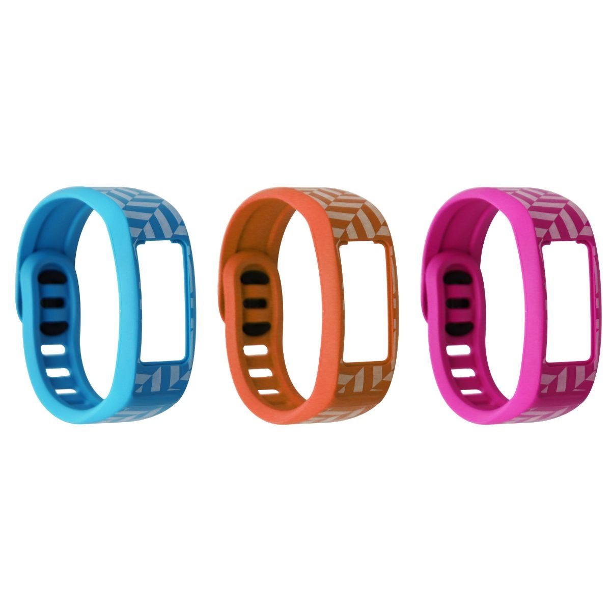 Garmin vívofit2 Style Collection Wrist Bands (Small) - (Pink/Orange/Cyan)