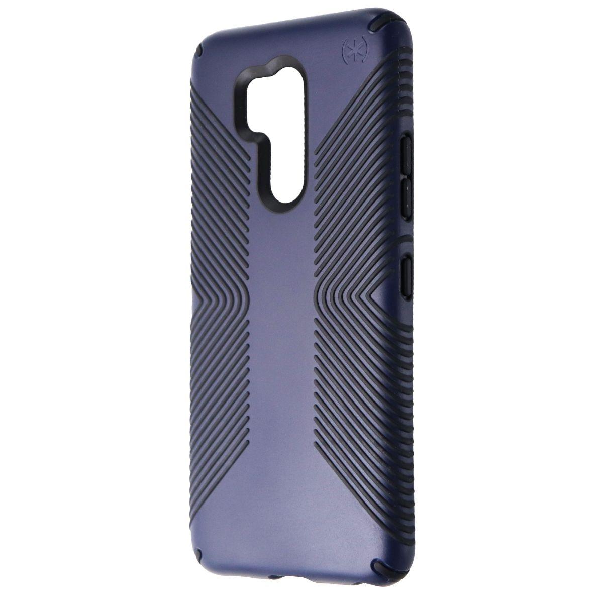 Speck Presidio Grip Phone Case for LG G7 ThinQ - Eclipse Blue / Carbon Black