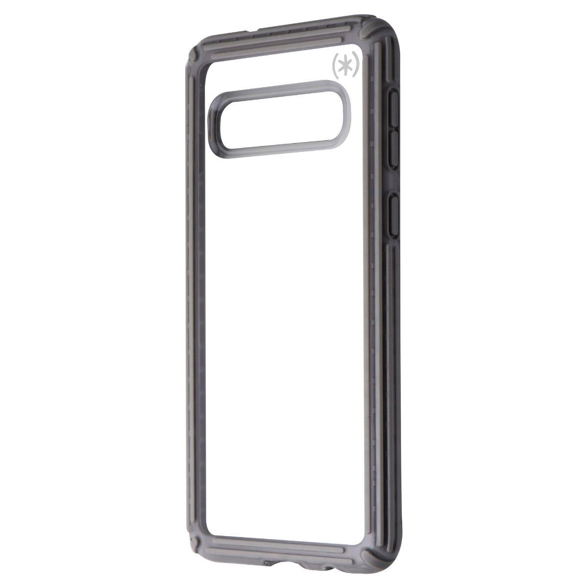 Speck Presidio V-Grip Series Case for Samsung Galaxy S10 - Clear / Gray