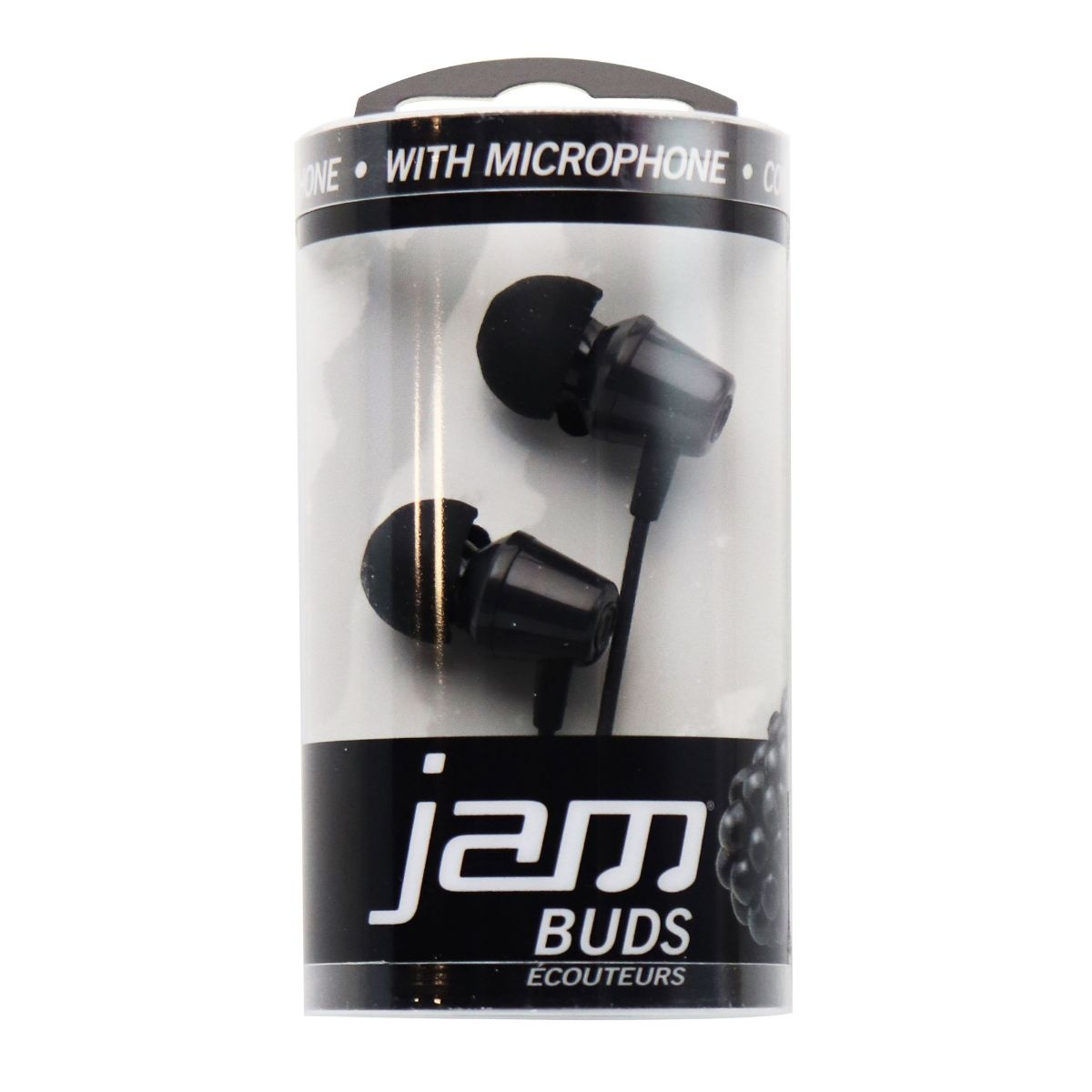 JAM Buds Earbuds with Microphone - Black (HX-EP010BK)