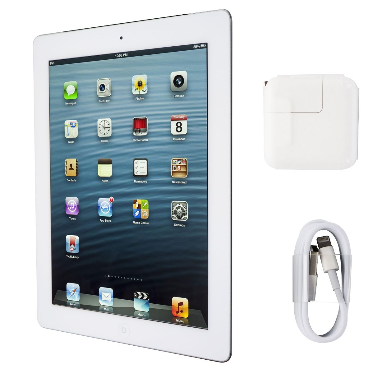 Apple iPad 9.7 (4th Gen) Tablet A1460 Wi-Fi Only - 16GB / White