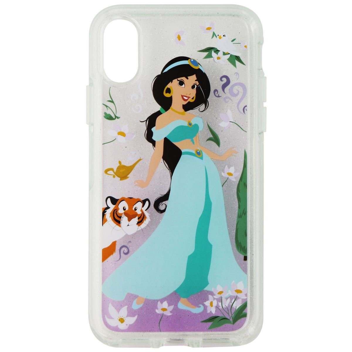 OtterBox Symmetry Princess Case for iPhone Xs/X - Oasis of Independence Jasmine