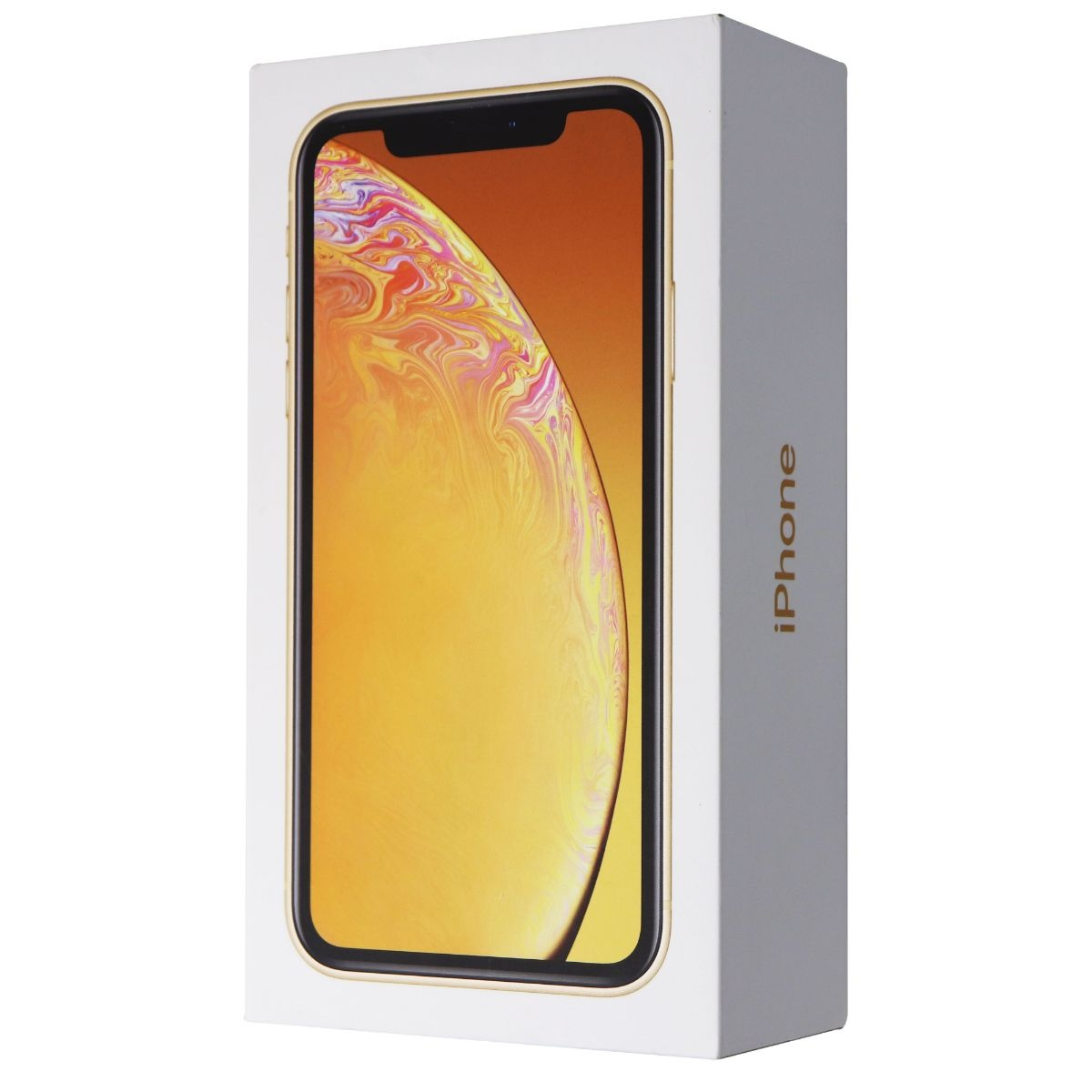 RETAIL BOX - Apple iPhone XR - 128GB / Yellow - NO DEVICE