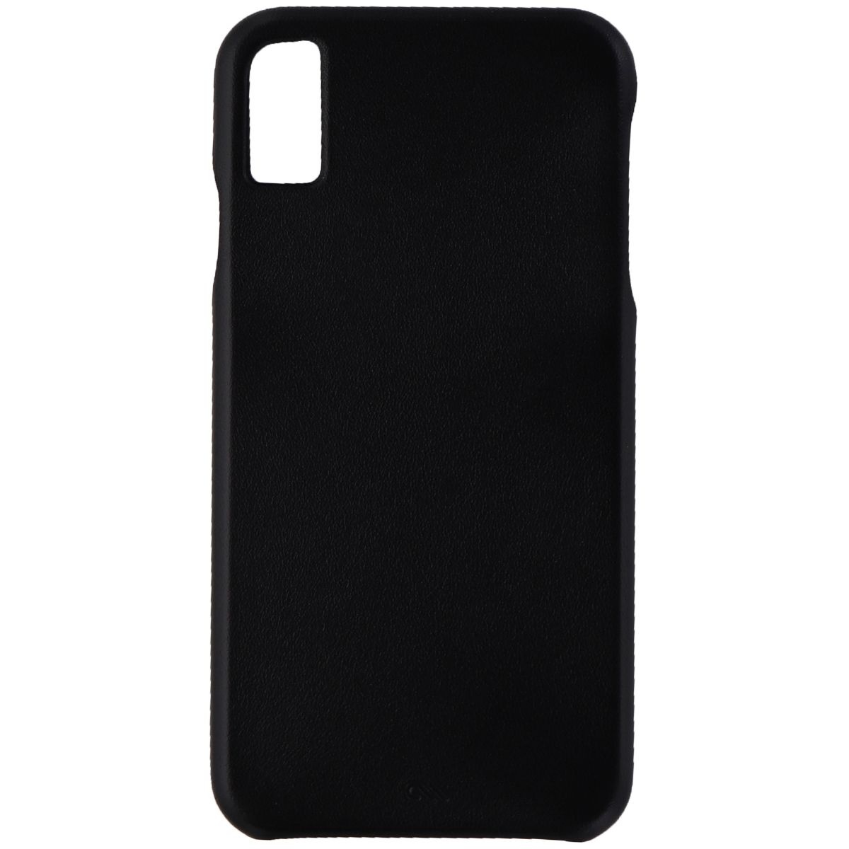 Case-Mate Barely There Genuine Leather Hard Case for Apple iPhone XS Max - Black