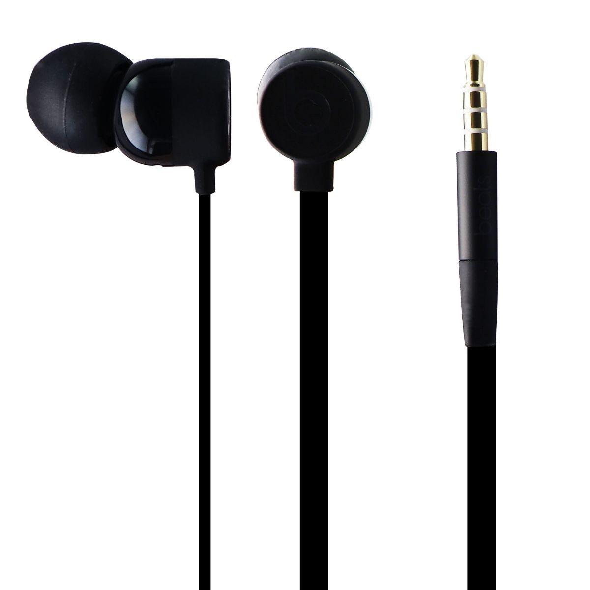 Beats by Dre. Dre urBeats3 Earphones with 3.5mm Plug - Black (MU982LL/A)