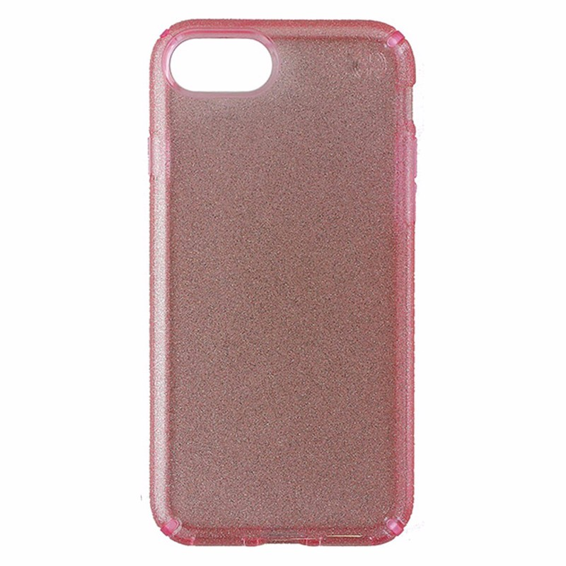 Speck Presidio Glitter Case Only for Apple iPhone 7 - Rose Pink / Gold Glitter