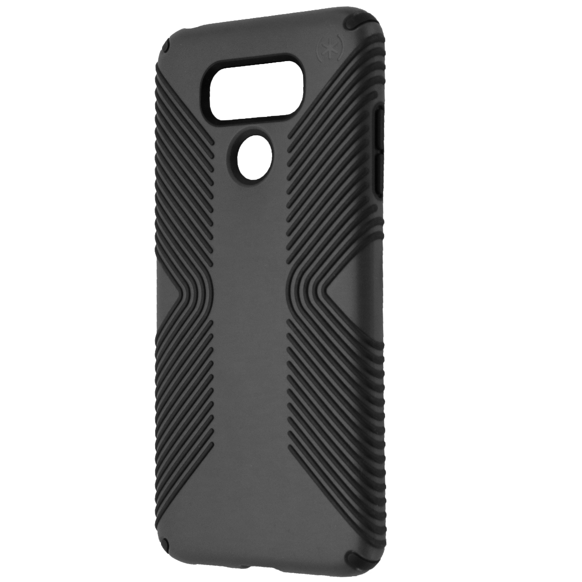 Speck Products Presidio Grip Cell Phone Case LG G6 - Graphite Gray/Charcoal Gray