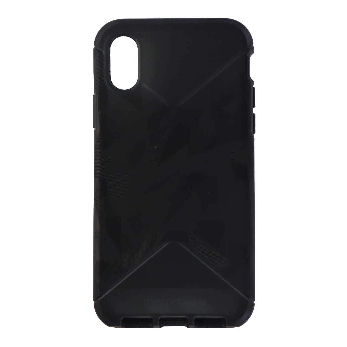 Tech21 Evo Tactical Series Protective Case Cover for iPhone X - Black